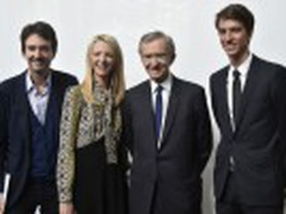 El hombre más poderoso de la moda, propietario del grupo francés LVMH, tiene un nuevo reto  que su país le quiera