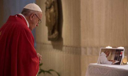 El Papa Francisco este miércoles en el Vaticano.