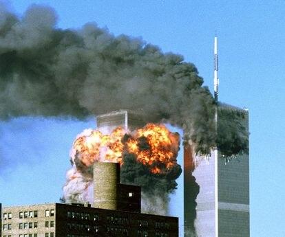 Atentado contra las Torres Gemelas de Nueva York, el 11 de septiembre de 2001.
