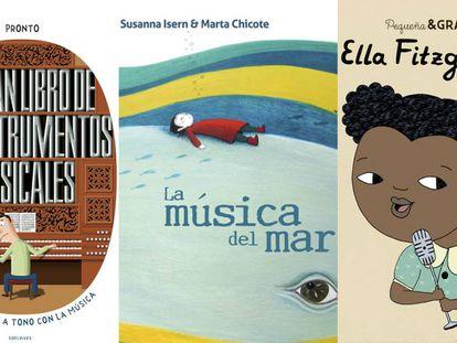 Libros infantiles llenos de música, ritmo y emoción