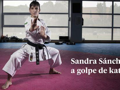 Dvd 918 (18/10/18) Sandra Sanchez, karateka campeona mundial de kata, en el Centro de Alto Rendimiento del CSD. © Carlos Rosillo