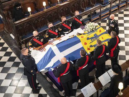 El funeral de Felipe de Edimburgo, en imágenes