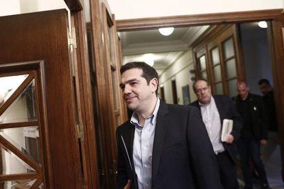 El primer ministro griego Alexis Tsipras, el pasado jueves en Atenas.