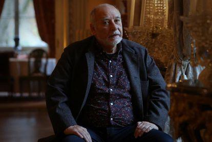 Tahar Ben Jelloun, escritor, en la residencia del embajador francés en Madrid.
