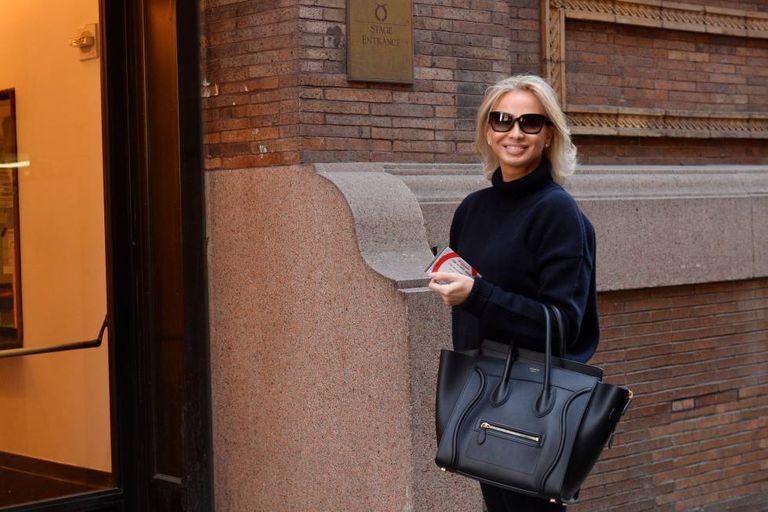 Corinna Larsen, en febrero de 2016, en Nueva York.