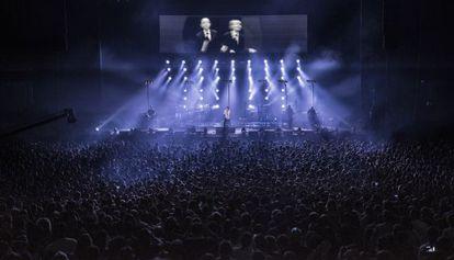 Concierto de Vetusta Morla en el Barclaycard Center de Madrid el pasado 23 de mayo.