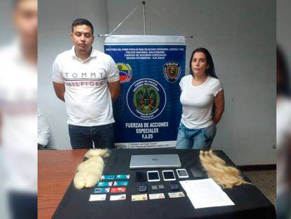 La excongresista Aida Merlano y su acompañante, capturados en Venezuela
