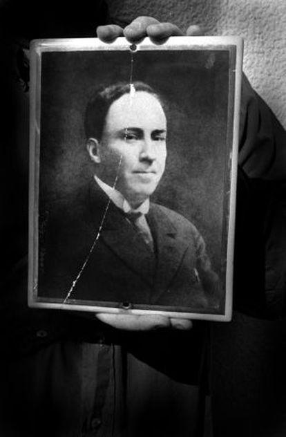 Retrato de Machado.
