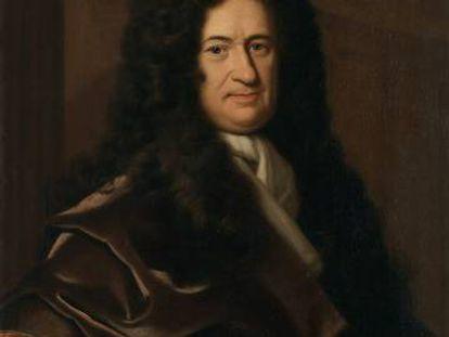 Retrato de Gottfried Leibniz, por Christoph Bernhard Francke.