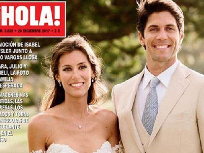 Portada de la exclusiva de ¡Hola!, de la boda de Ana Boyer y Fernando Verdasco.