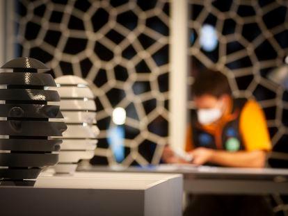 Una imagen de la exposición sobre las posibilidades de la impresión 3D en CosmoCaixa.