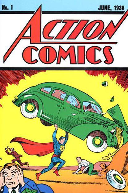 El hombre de acero se presentó al mundo en el número 1 de 'Action Comics', en junio de 1938. Creado por Jerome Siegel y Joe Shuster, el personaje bebía de diversas fuentes: desde 'John Carter of Mars', de E. R. Burroughs, a 'Gladiator', de Philip Wylie, pasando por el profeta Moisés. Fue un éxito absoluto.