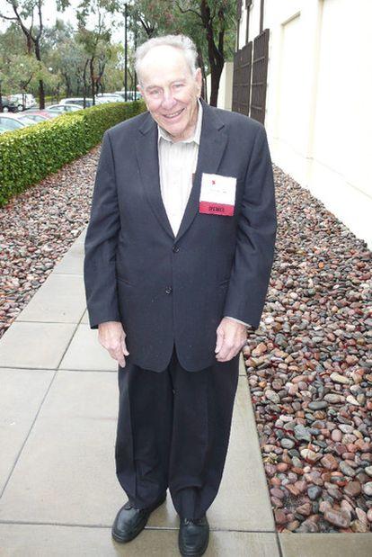 El antropólogo molecular Morris Goodman.