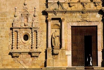 Una imagen del monasterio de Poblet, en Tarragona.