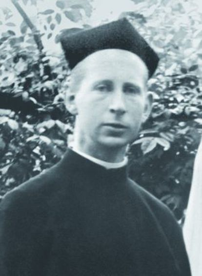 El estudiante de teología Francis Browne.