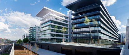 Edificio Helios en Campo de las Naciones (Madrid), donde ING tendrá sus oficinas en 2020.