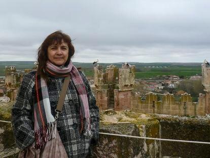 Juana Ruiz, española detenida en Israel, en una imagen cedida por la familia.