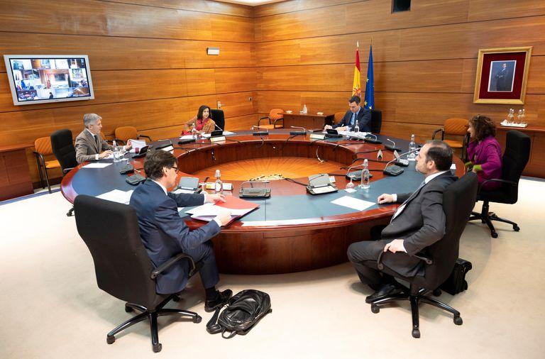 La reunión del Consejo de Ministros del domingo 29 de marzo.
