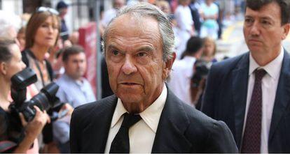 Jaime Botín en Santander en septiembre de 2014.