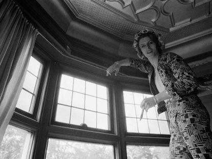 El músico David Bowie, en su casa de Beckenham (Londres), el 24 de abril de 1972.