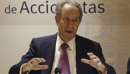 Juan Miguel Villar Mir, en junio de 2016.