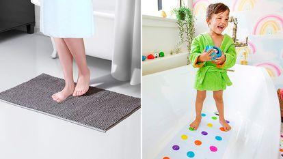 Las alfombrillas de baño mejor valoradas en Amazon.