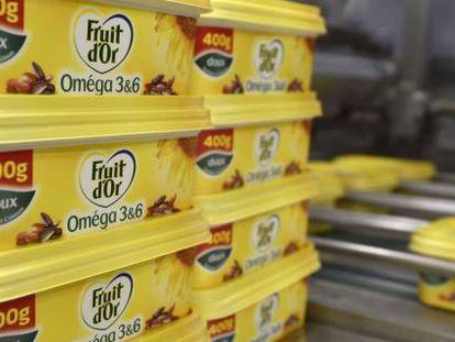 Fábrica de margarina de Unilever en Róterdam, una de las más antiguas del mundo.
