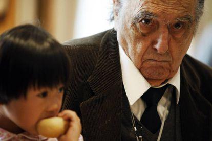 Rafael Sánchez Ferlosio, en septiembre de 2008.