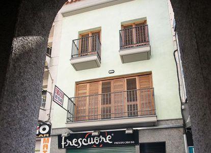 Edificio en Calella cuya venta atribuye Hacienda a la Infanta.