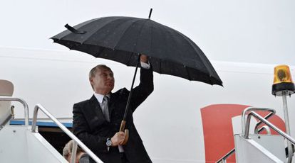 El presidente ruso, Vladímir Putin, este miércoles en Ufá (Rusia).