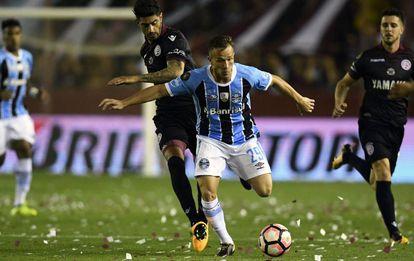 Arthur en la final de la Libertadores.