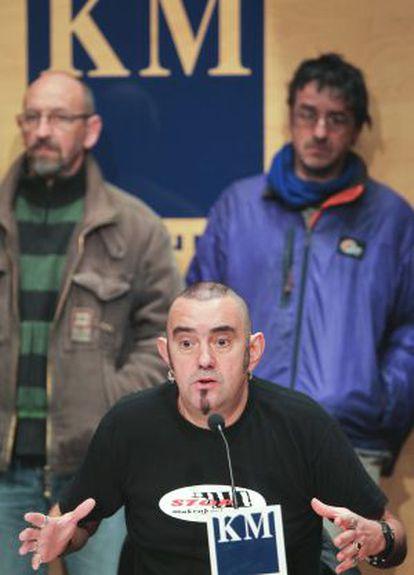 César Manzanos, de la asociación de apoyo a los presos Salhaketa