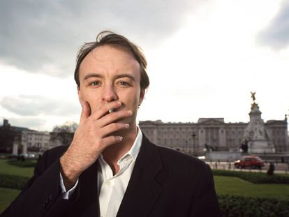 Retrato de Dominic Cummings cuando era director de campaña de Business for Sterling, tomado el 19 de marzo de 2001 en Londres, Reino Unido.