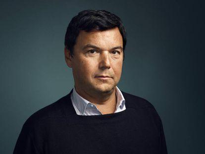 El economista Thomas Piketty, en París el pasado 7 de noviembre.