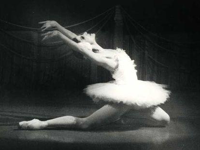 Josefina Méndez, en <i>La muerte del cisne.</i>
