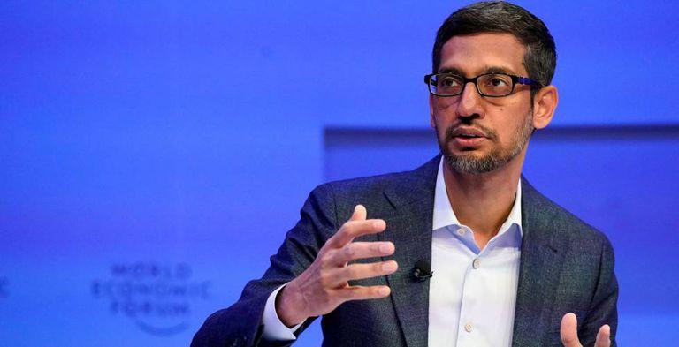 Sundar Pichai, CEO de Alphabet y Google.
