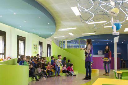 El colegio Claver de los jesuitas en Raimat (Lleida), donde se trabaja por proyectos en lugar de exámenes y libros de texto.