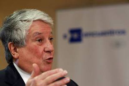 El vicepresidente primero de la CEOE y presidente de la patronal madrileña CEIM, Arturo Fernández. EFE/Archivo