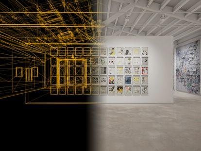 La galería Hauser and Wirth ha lanzado su primera exposición virtual para la venta de obras: 'Beside Itself', con obras de Louse Bourgeois, Jenny Holzer y Mark Bradford, entre otros.