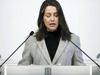 Inés Arrimadas ha lamentado la muerte de Jordi Núñez.