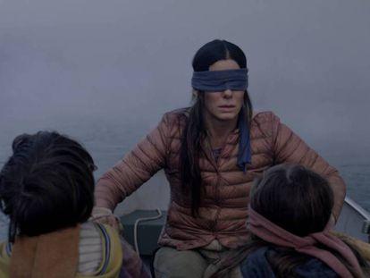 Sandra Bullock, en una imagen de la película 'A ciegas'. En vídeo, el tráiler de 'A ciegas'.