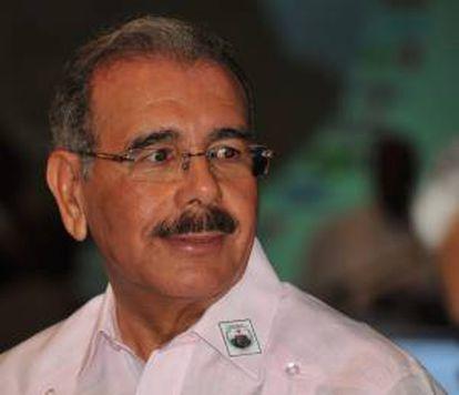 En la imagen, el presidente de República Dominicana, Danilo Medina. EFE/Archivo