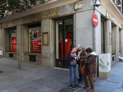 Sucursal Banco de Santander en Madrid