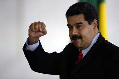 El presidente de Venezuela, Nicolás Maduro, este viernes.