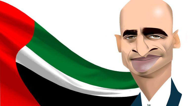 Yousef Al Otaiba, por Luis Grañena.