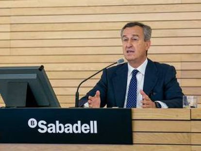 César González-Bueno, consejero delegado de Banco Sabadell