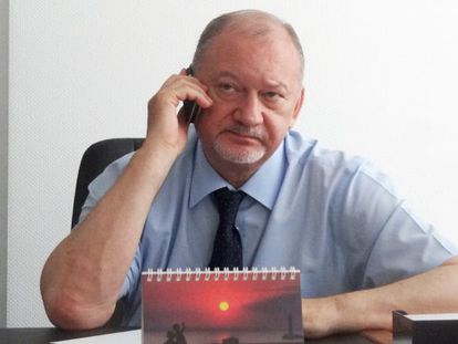 Vladímir Antiuféyev, el viernes en Donetsk.