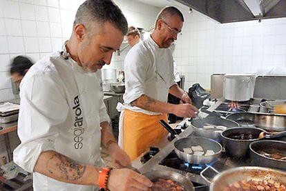 Sergi Arola, cocinero.