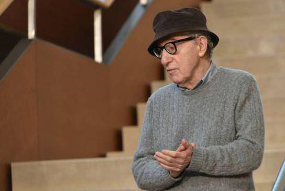 Woody Allen en San Sebastián, en 2019.