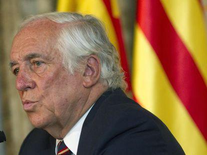 El alto comisionado del Gobierno para la Marca España, Carlos Espinosa de los Monteros, en Barcelona.